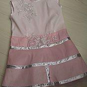 Одежда ручной работы. Ярмарка Мастеров - ручная работа Нежное платье принцессы. Handmade.
