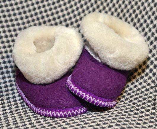 Обувь ручной работы. Ярмарка Мастеров - ручная работа. Купить Чуни взрослые. Handmade. Комбинированный, мутон