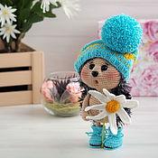 Куклы и игрушки handmade. Livemaster - original item Soft toys: Hedgehog with Camomile. Handmade.