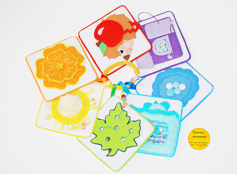 Educational tactile cards for kids, Play sets, Moscow,  Фото №1
