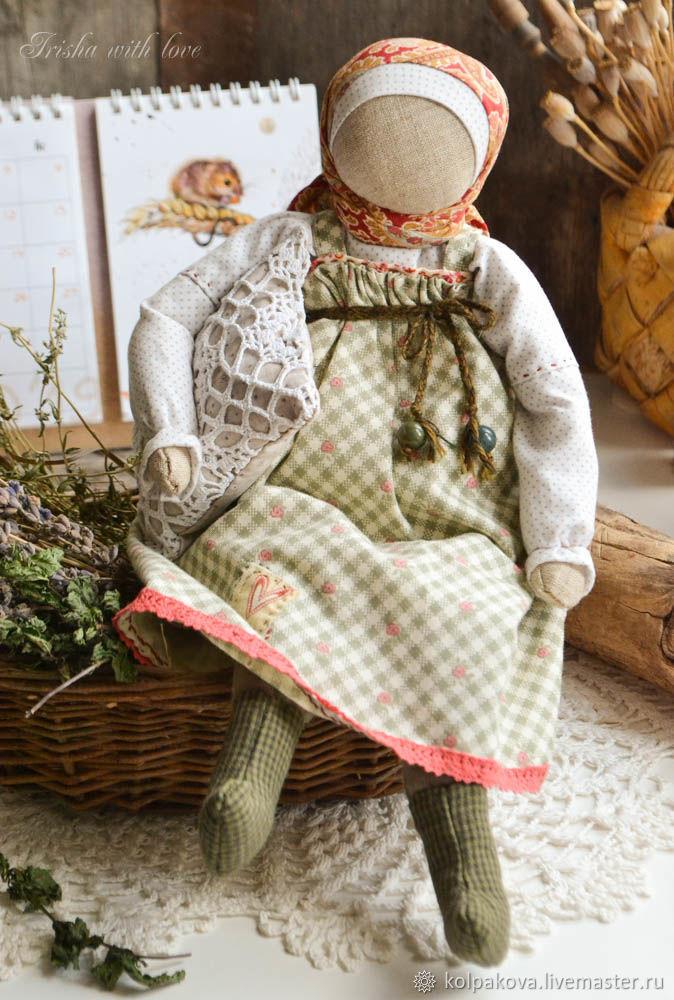 """Кукла для сна """"Луговые травы и лаванда"""", Народная кукла, Липецк,  Фото №1"""