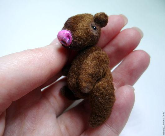 Мишки Тедди ручной работы. Ярмарка Мастеров - ручная работа. Купить Мишка Малыш. Handmade. Коричневый, мишка тедди