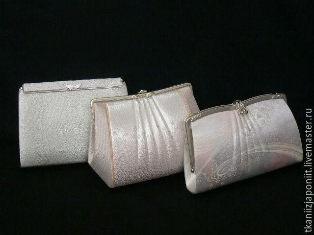 Handbag evening silk Japan, Vintage accessories, Chelyabinsk,  Фото №1
