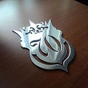 """Для дома и интерьера ручной работы. Ярмарка Мастеров - ручная работа Номер на входную дверь """"Crown"""". Handmade."""