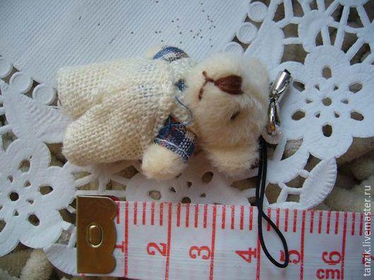 Куклы и игрушки ручной работы. Ярмарка Мастеров - ручная работа. Купить Игрушка для куклы - мишка. Handmade. Комбинированный, игрушка для куклы
