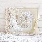 Подарки ручной работы. Ярмарка Мастеров - ручная работа Фотоальбом Наша Свадьба. Handmade.