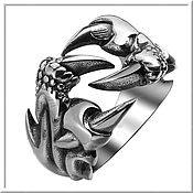 Украшения handmade. Livemaster - original item Men`s ring No. 2 steel.. Handmade.
