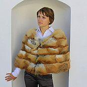 handmade. Livemaster - original item Fox fur cape. Handmade.