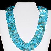 Necklace handmade. Livemaster - original item Blue pearl necklace. Handmade.