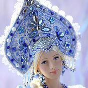 Куклы и игрушки ручной работы. Ярмарка Мастеров - ручная работа Кукла Аленушка (гжель). Handmade.