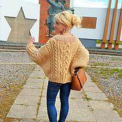 Одежда ручной работы. Ярмарка Мастеров - ручная работа Модный современный свитер. Handmade.
