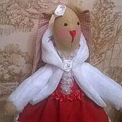 Куклы и игрушки ручной работы. Ярмарка Мастеров - ручная работа кролик в стиле тильда. Handmade.
