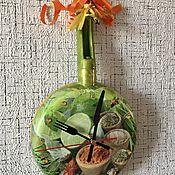 Для дома и интерьера handmade. Livemaster - original item Clock-frying pan