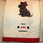Для домашних животных, ручной работы. Ярмарка Мастеров - ручная работа Теплый и уютный плед с подушечкой для любимца. Handmade.