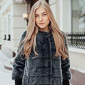 Одежда handmade. Livemaster - original item Coat by mink grey (tissavel). Handmade.