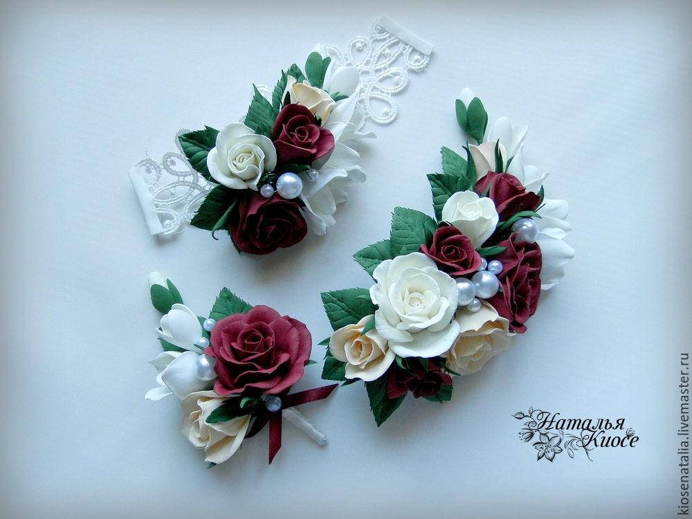 Свадебные украшения из фоамирана