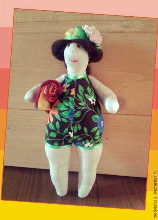 Куклы Тильды ручной работы. Ярмарка Мастеров - ручная работа. Купить Куклы-примитив. Handmade. Разноцветный, купальщица, сонный ангел