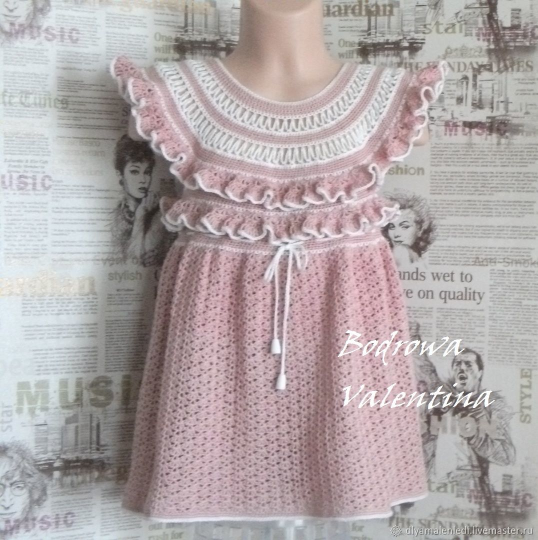 Dress Crochet For Girls Shop Online On Livemaster With Shipping