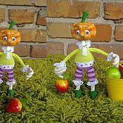 Куклы и игрушки ручной работы. Ярмарка Мастеров - ручная работа сеньор Тыква. Handmade.