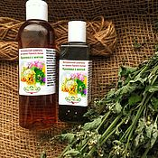 Косметика ручной работы handmade. Livemaster - original item Shampoo Nettle with mint on the herbs of the Altai Mountains. Handmade.