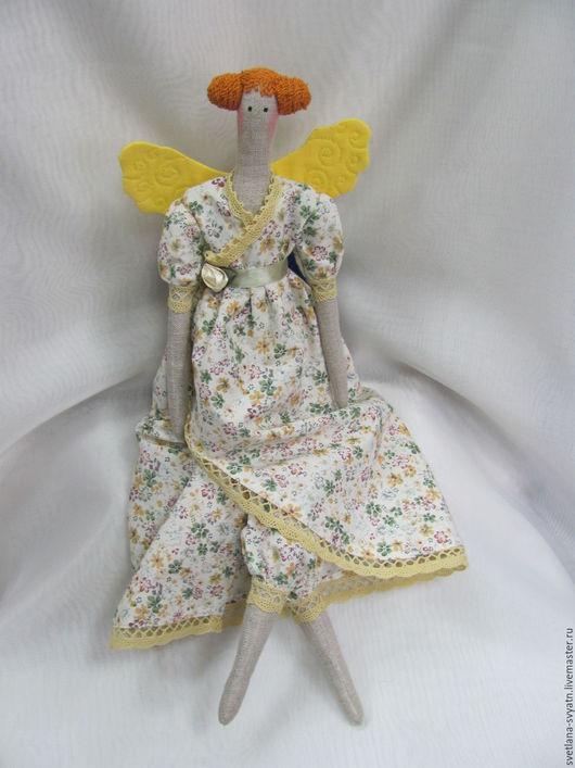 Куклы Тильды ручной работы. Ярмарка Мастеров - ручная работа. Купить Фея бабочек Лия интерьерная кукла в стиле Tilda из натуральных тканей. Handmade.