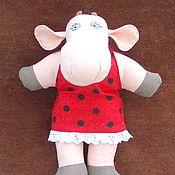 Текстильная игрушка Божья Корова