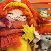 Куклы и игрушки ручной работы. Ярмарка Мастеров - ручная работа Феюшка Волшебной   осени и хорошего настроения :). Handmade.