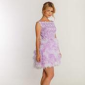 Одежда handmade. Livemaster - original item Evening lavender dress. Handmade.