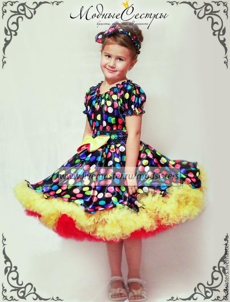 Платья детские в стиле стиляги