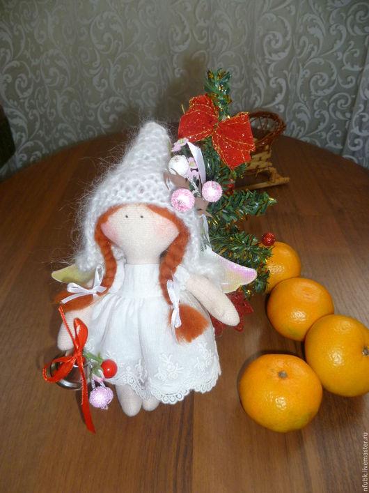 Коллекционные куклы ручной работы. Ярмарка Мастеров - ручная работа. Купить куколка малышка. Handmade. Комбинированный, новогодний сувенир, малышка