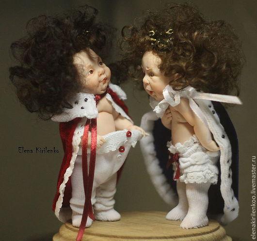 """Коллекционные куклы ручной работы. Ярмарка Мастеров - ручная работа. Купить """"Хвастун"""". Handmade. Ярко-красный, королева"""