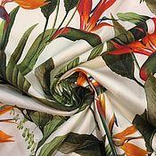 Материалы для творчества ручной работы. Ярмарка Мастеров - ручная работа 126901 ткань хлопок Стрелиция. Handmade.