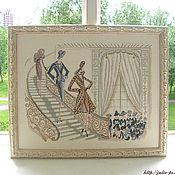 Картины и панно ручной работы. Ярмарка Мастеров - ручная работа Дефиле / Defile. Handmade.