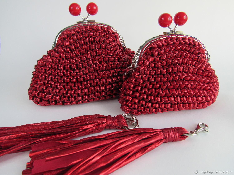 Детская сумочка металлик (красная), Сумки для детей, Москва,  Фото №1