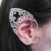 "Украшения handmade. Livemaster - original item Elven ears - earcuffs ""Frost"". Handmade."