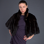 Одежда handmade. Livemaster - original item The fur of the Marten