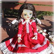 Куклы и игрушки ручной работы. Ярмарка Мастеров - ручная работа Алечка, авторская текстильная кукла. Handmade.