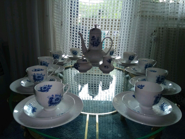 Винтаж: Винтажный немецкий чайный сервиз на 10 п. Edelstein. Оригинал Логотипы, Сервизы винтажные, Москва,  Фото №1