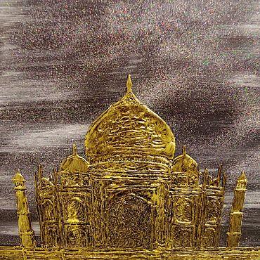 Картины и панно ручной работы. Ярмарка Мастеров - ручная работа Картины: Золото наших душ!. Handmade.