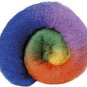 Материалы для творчества handmade. Livemaster - original item Cardoons NZ. Rainbow. 27 MD Germany. wool for felting. Handmade.