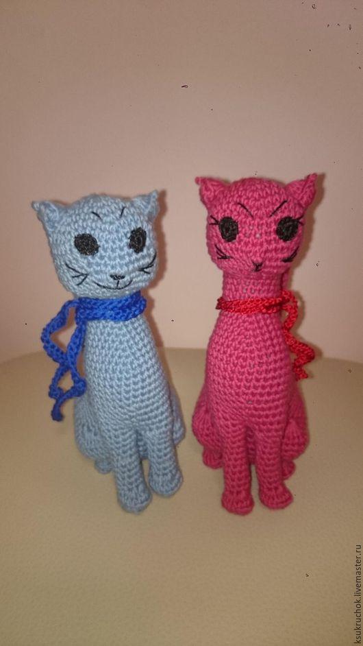 Подарки для влюбленных ручной работы. Ярмарка Мастеров - ручная работа. Купить Влюбленные кошки. Handmade. Комбинированный, подарок девушке