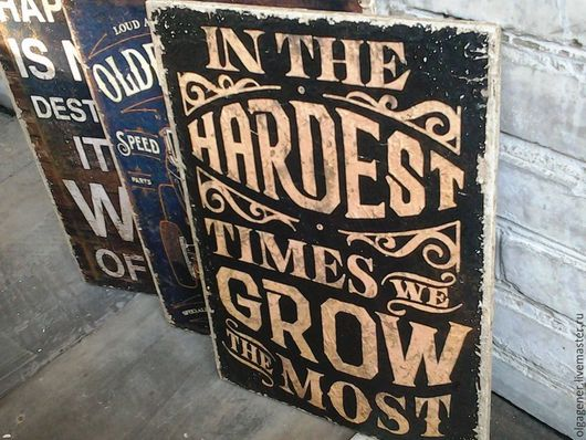 Город ручной работы. Ярмарка Мастеров - ручная работа. Купить Панно деревянное 30х40_ЛОФТ_We_Grow. Handmade. Лофт, оформление стен, для офиса
