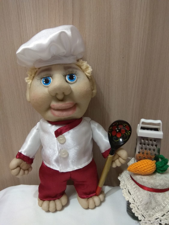 Кукла-попик Повар, Куклы и пупсы, Нижний Новгород,  Фото №1