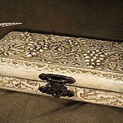 Для дома и интерьера handmade. Livemaster - original item Box Copernica VINTAGE CARVED BONE. Handmade.