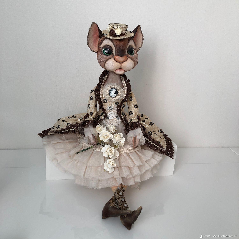 Кошка интерьерная, Куклы и пупсы, Чебоксары,  Фото №1
