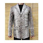 handmade. Livemaster - original item Men`s jacket of Python ANTONIO. Handmade.