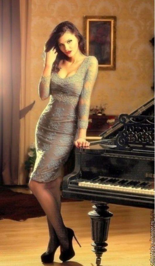 Платья ручной работы. Ярмарка Мастеров - ручная работа. Купить Платье Cristal. Handmade. Тёмно-синий, магазин, Рецепт, россия