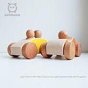 Мягкие игрушки ручной работы. Ярмарка Мастеров - ручная работа Легковые машины. Handmade.