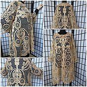 """Одежда ручной работы. Ярмарка Мастеров - ручная работа Жакет  """"Кокетка"""" кружевной. Handmade."""