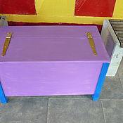Для дома и интерьера ручной работы. Ярмарка Мастеров - ручная работа Ящик для сада. Handmade.